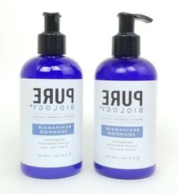 2 Pure Biology Reviva Hair Growth Stimulating & Anti Hair Lo