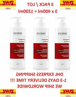 3 pack dercos energising shampoo for hair
