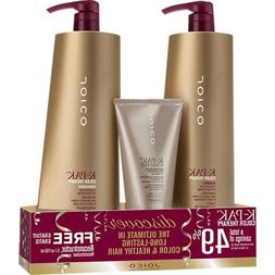 Joico - K-pak Color Therapy Liter Duo & Free 5.1 Oz Reconstr