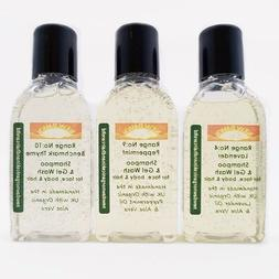 ALOPECIA HAIR LOSS relief - Organic Shampoo Sample Pack for