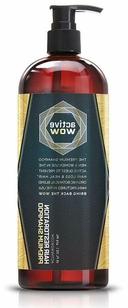Active Wow Argan Oil & Organic Botanicals Anti Hair-Loss Sha
