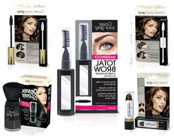 Cover Your Roots Head & Brow Gray Coverage 5 Piece Set - Bla