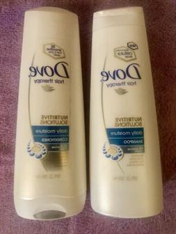 Dove Daily Moisture Therapy Shampoo & Conditioner for DRY RO