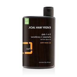 Every Man Jack Daily Shampoo, Citrus, 13.5-ounce