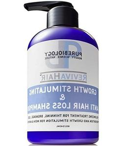 Hair Growth Stimulating Shampoo  with Biotin, Keratin & Brea