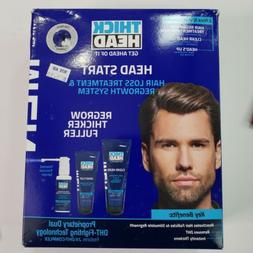 Thick Head Head Start Hair Loss Treatment Regrowth System 3p