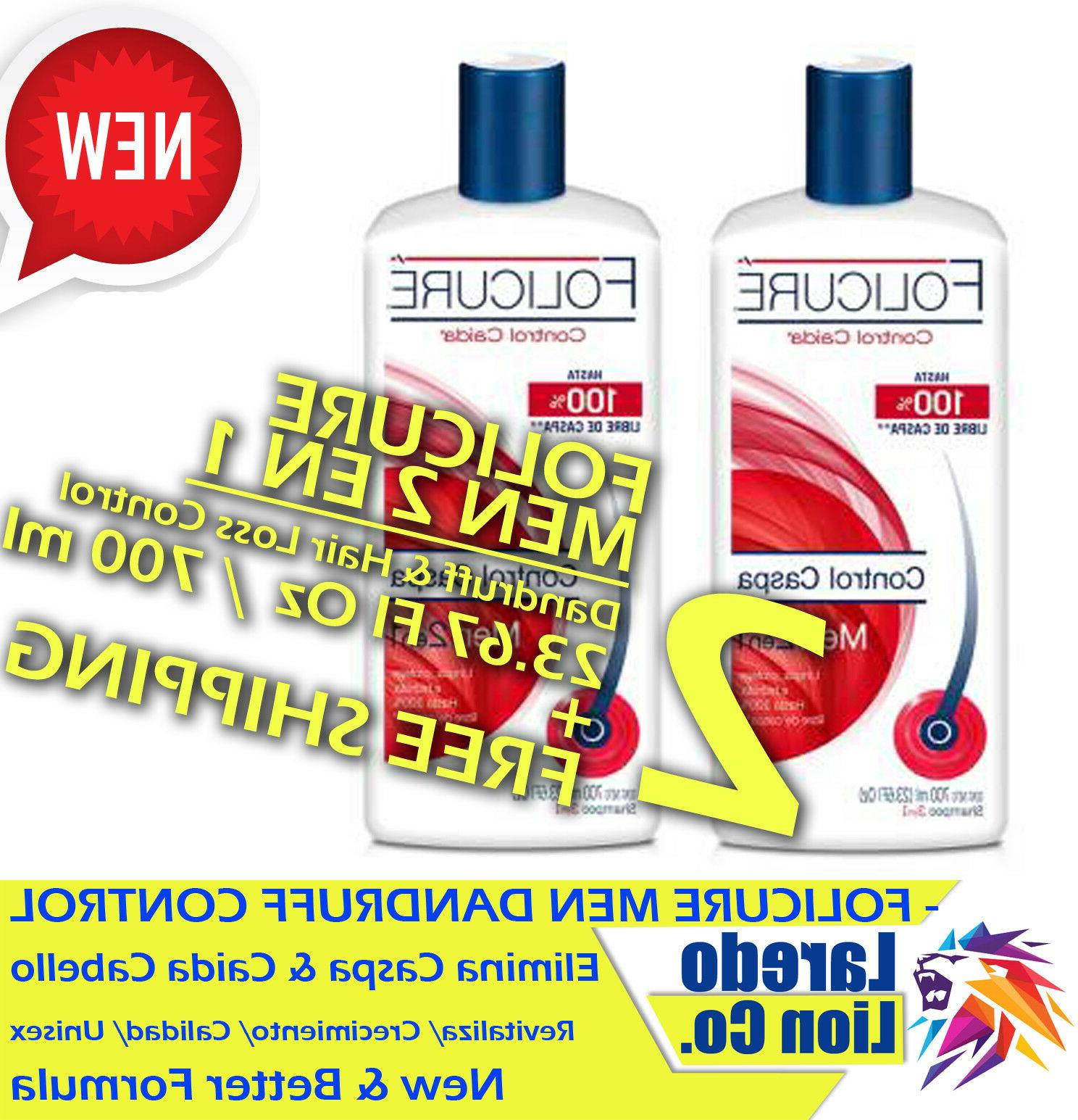 2 pack men 2 in 1 dandruff