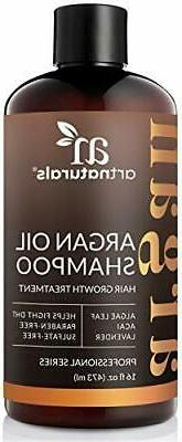 argan oil shampoo for hair regrowth sulfate