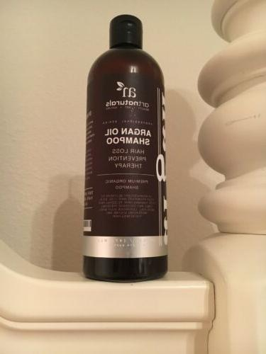 Argan Oil Shampoo, Loss Prevention fl oz -