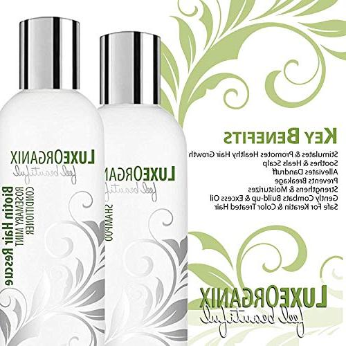 for Tree Rosemary Soothe Dry Itchy Natural Daily Hair Treatment. Anti Dandruff Paraben-Free, and Safe