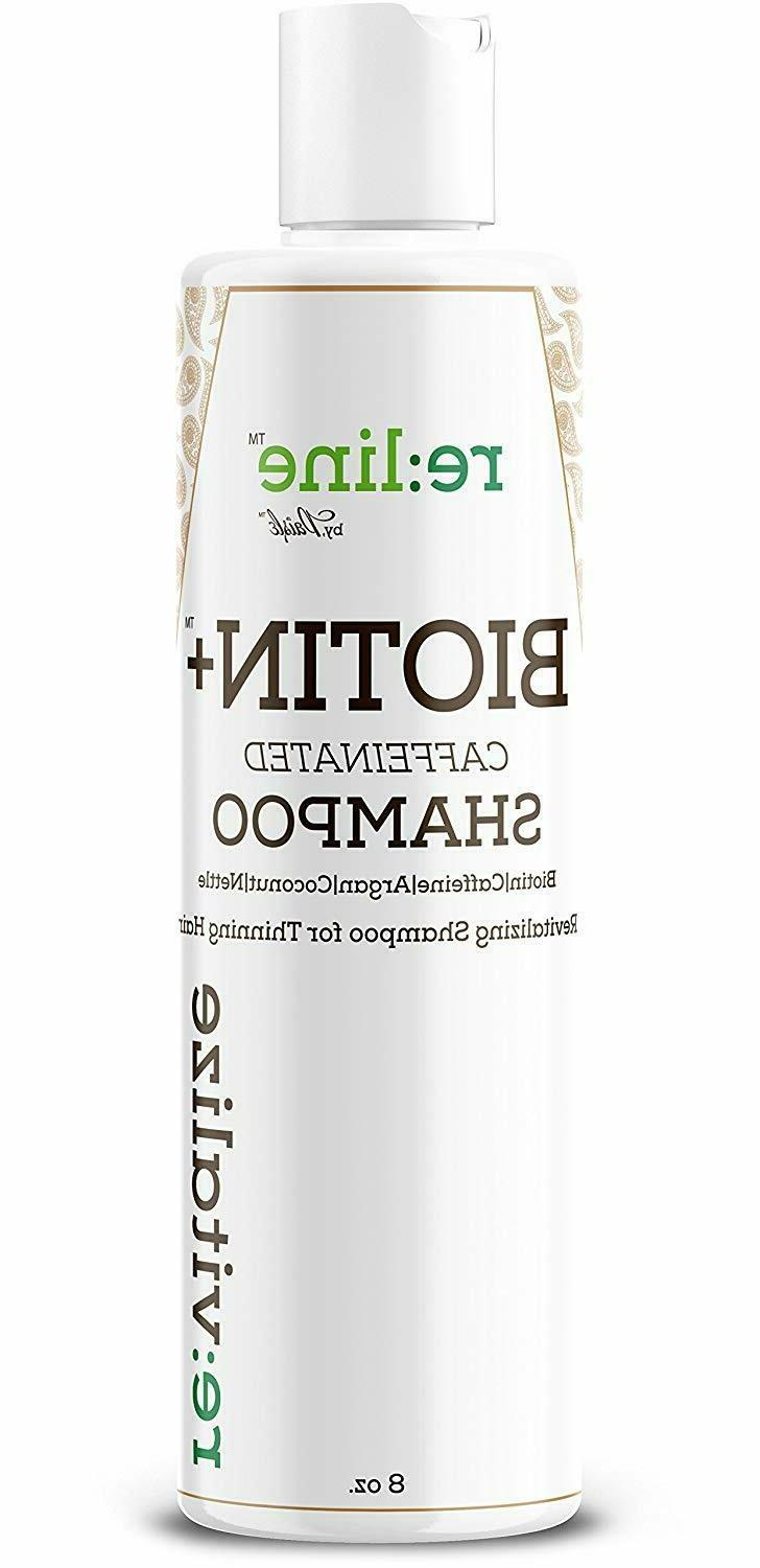 Biotin Shampoo Growth - Caffeine Hair Loss