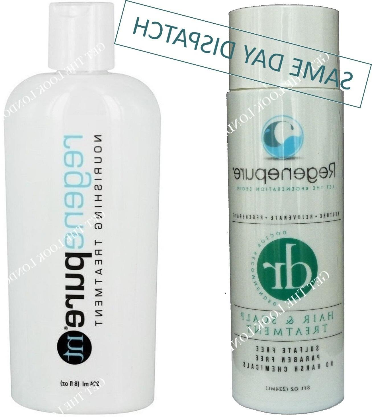 REGENEPURE DR & COMBO HAIR LOSS REGROWTH SHAMPOO & KIT