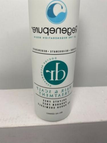 REGENEPURE, and Scalp Treatment, and Supports