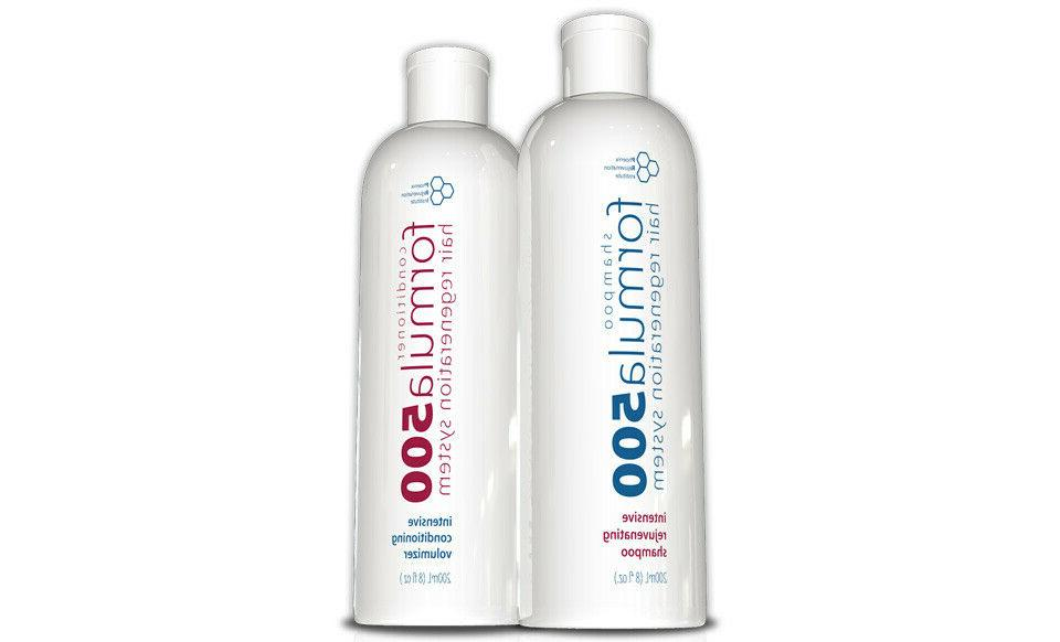 hair growth shampoo and conditioner hair regrowth