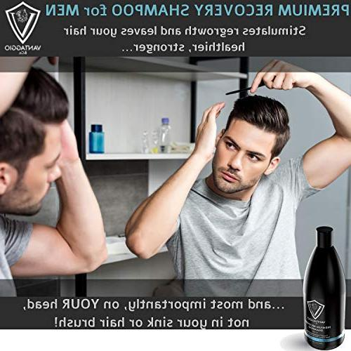Hair Loss Men – Boosts Growth and – DHT Blocker Thinning and – Premium Formula with Oil Peppermint Dead Sea – 13.5