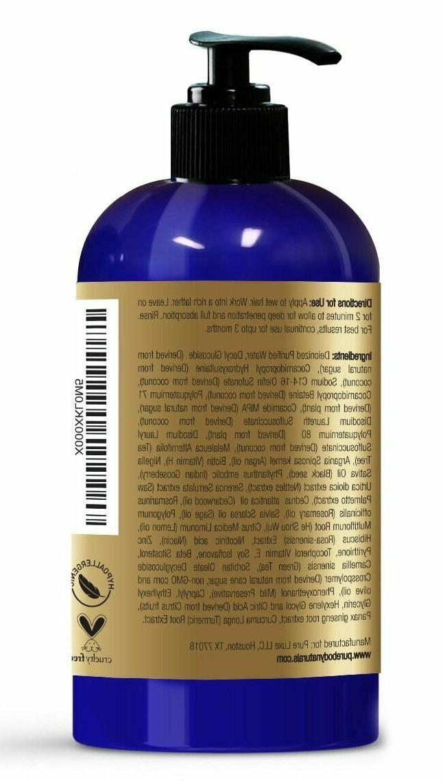 hair loss prevention therapy shampoo 16 fl
