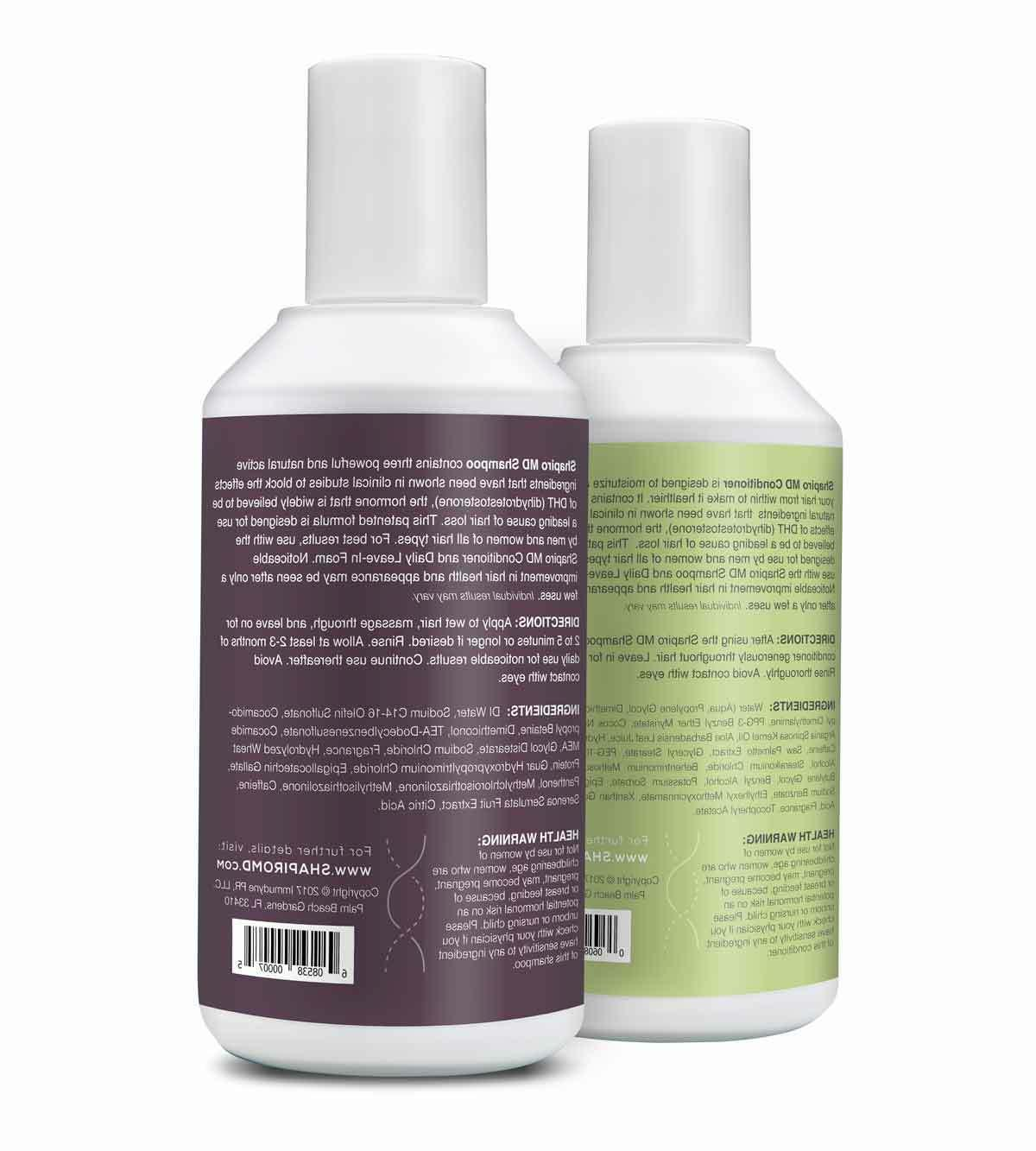 Shapiro MD Shampoo Conditioner DHT for