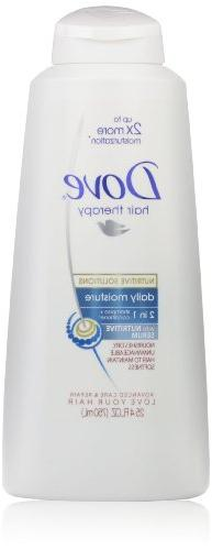 Dove Hair Therapy, Daily Moisture 2in1 Shampoo + Conditioner