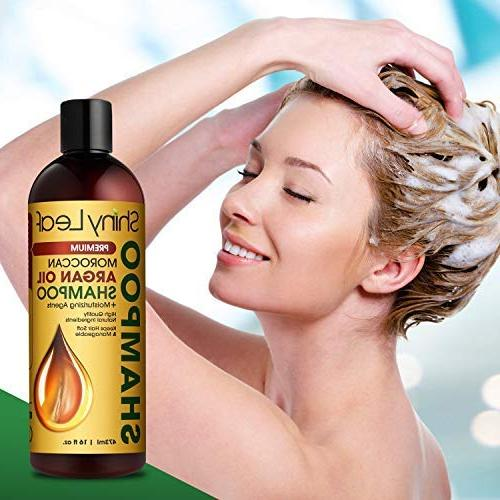Moroccan Oil – Sulfate Shampoo Hair Treatment, Thickens, Strengthens 16 oz Bottle