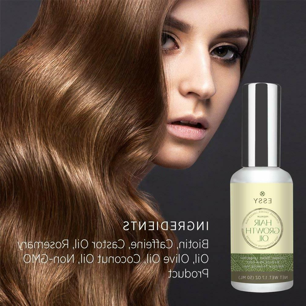 Natural Hair - Growth Oil for Stronger