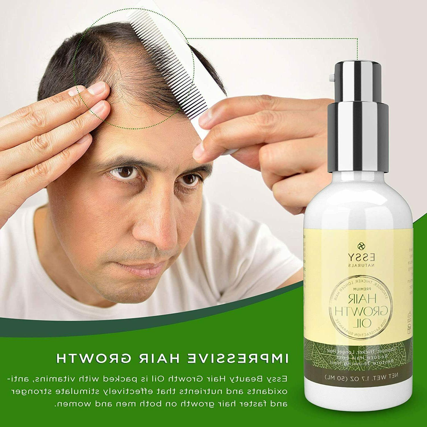 Natural Growth with Caffeine and Biotin - Hair Growth