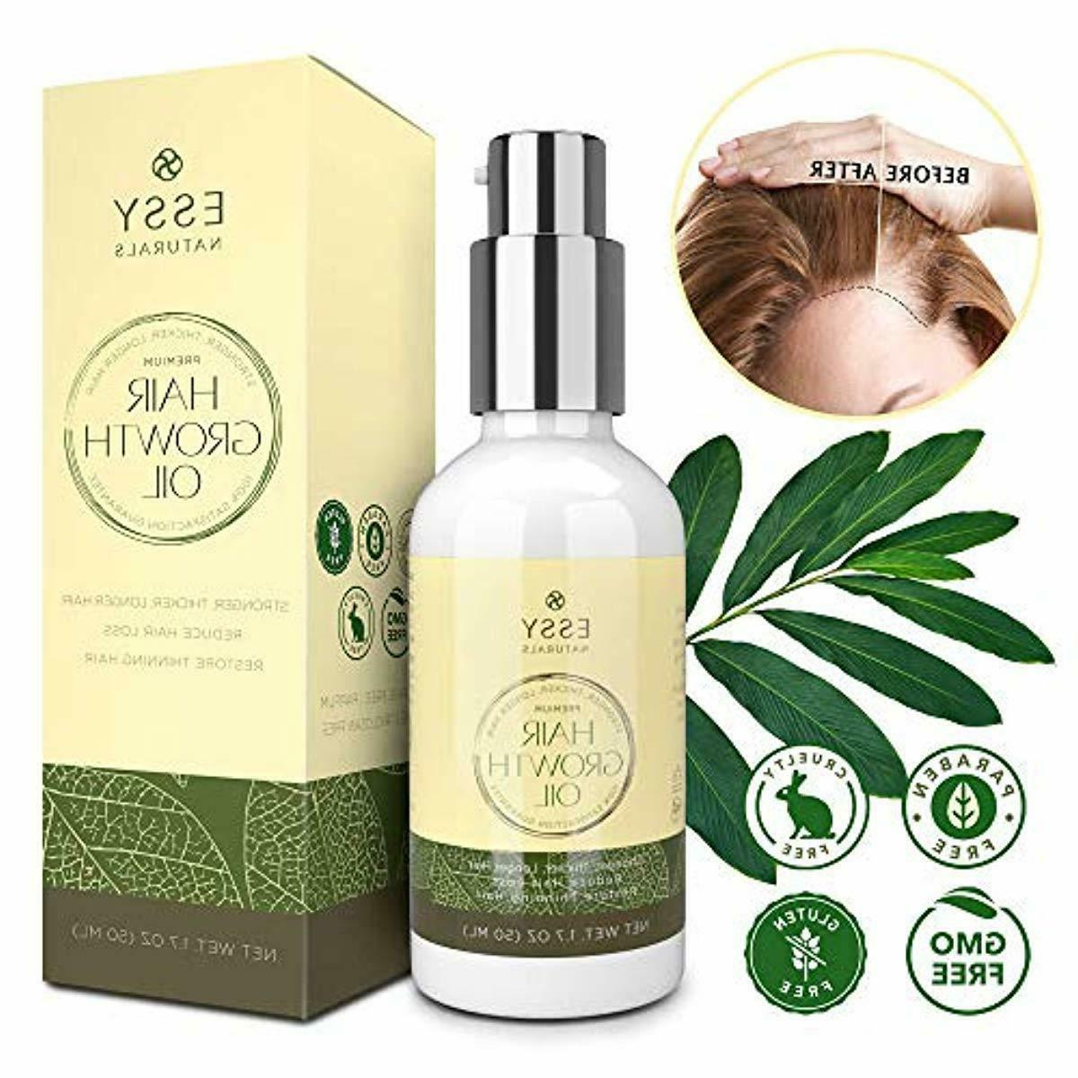 Natural with - Hair Growth Oil for Stronger