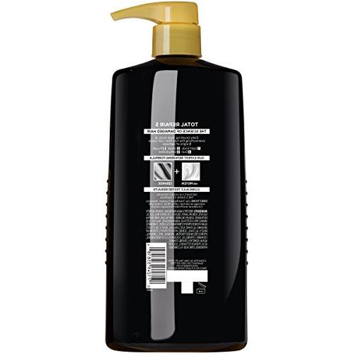 L'Oréal Paris Elvive Total Repair 5 for Hair, Shampoo with Protein and Ceramide for Strong, Silky, Healthy, 28 fl.