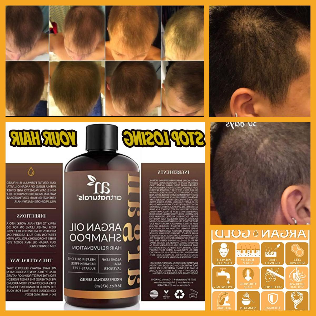 organic argan oil treatment for hair loss
