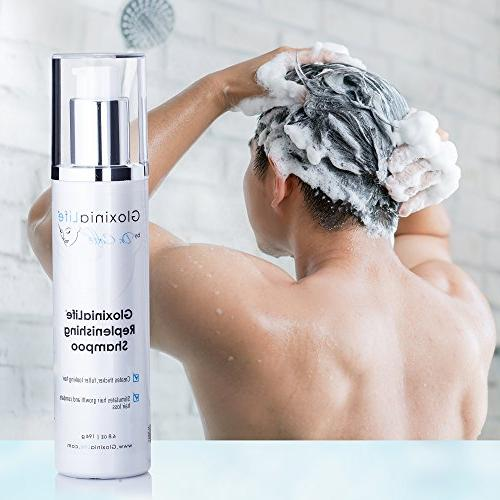 GloxiniaLife by Dr. Calle Replenishing Treatment Shampoo- For Men and Prevents Loss and Regrowth,