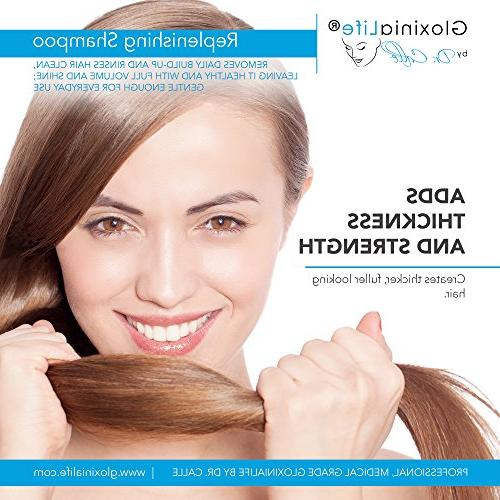 GloxiniaLife Replenishing Shampoo- Hair Loss Treatment and For and Prevents