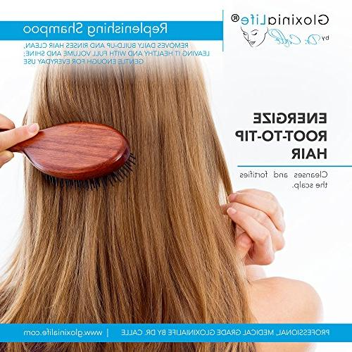 GloxiniaLife by Replenishing Shampoo- Loss Treatment and For Men Prevents Loss Regrowth,