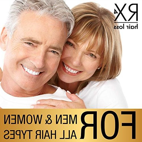 RX Shampoo for Thinning Hair, DHT Blocker, Organic with Hair Growth Shampoo Treatment Conditioner sold