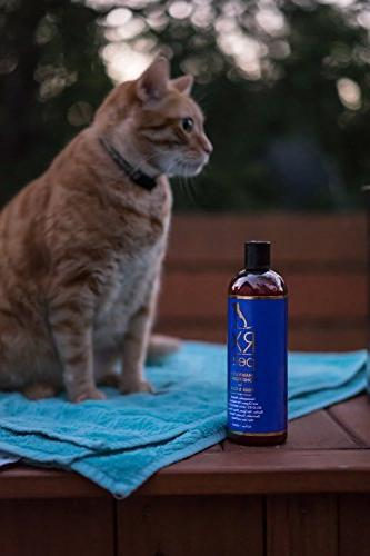 Conditioner Naturally Oatmeal Aloe Medicated Puppy Treatment, for Smelly Pets, Bites, Dry Itchy Mange,
