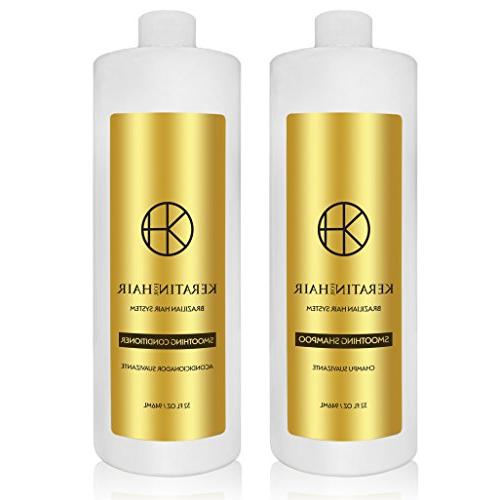 smoothing sulfate conditioner set