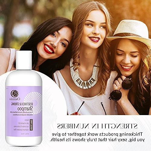 Strengthening Thickening Biotin for Thicker Fuller Hair – Free Shampoo Vera, Color Hair Breakage, Boosts Hair by