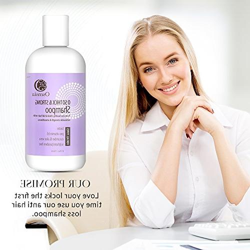 Strengthening Shampoo for Thicker Hair Free – Vera, Color Hair Loss Breakage, Boosts Hair by