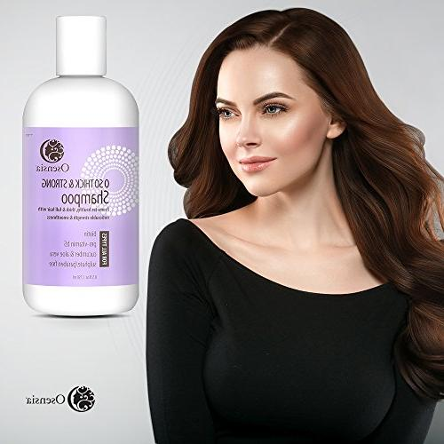 for Thicker Fuller – Sulfate and Vera, Safe, Hair Loss Shampoo Breakage, Hair by