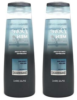 Dove Men + Care Fortifying Shampoo - Cooling Relief - With I