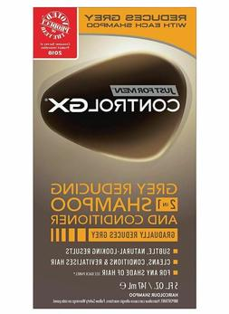 Mens Shampoo And Conditioner Anti Grey Hair Reducing Just Fo
