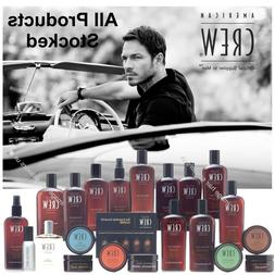 American Crew Mens Hair Products Style Shave Wash Colour ALL