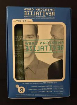 NIB American Crew Revitalize Hair System For Thinning Hair M