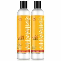 Nourish Beaute Vitamins Shampoo and Conditioner for Hair Los