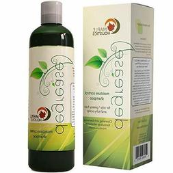 Shampoo for Oily Hair & Oily Scalp - Natural Dandruff Treatm