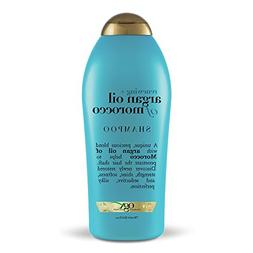 OGX Renewing Moroccan Argan Oil Shampoo, 25.4 Ounce Bottle,