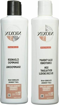 Nioxin System 3 Cleanser Shampoo Scalp Therapy Conditioner C
