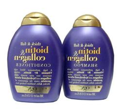 Organix Thick & Full Biotin & Collagen Shampoo AND Condition