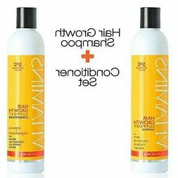 VITAMINS Hair Loss Shampoo and Conditioner w/ Natural Growth