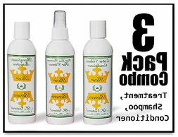 WOMEN HAIR LOSS REGROWTH NATURAL COMBO growth treatment sham